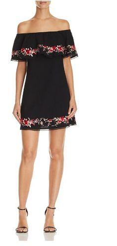 8a5b6e5a0686c Lucy Paris Terra Off-the-Shoulder Dress - Exclusive Women - Bloomingdale s