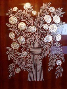 Incrustations de Lalique. Orient Express