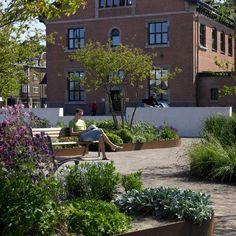 Aalborg Waterfront (Denmark) | C.F. Møller Landscape + Vibeke Rønnow Landscape Architects.