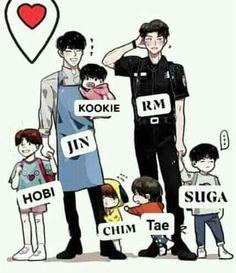 That's an accurate description 😂😂 NamJin with their babies Namjin, Bts Suga, Bts Bangtan Boy, Bts Memes, Bts Photo, Foto Bts, Bts Quiz Game, Fanart Bts, Min Yoonji