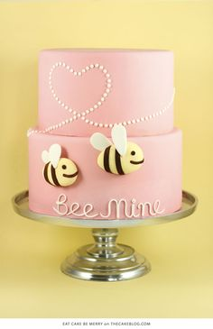 10 Love Inspired Cakes | including this design by Eat Cake Be Merry | on TheCakeBlog.com