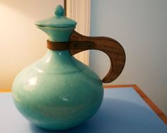 whimsical vintage coffee pot