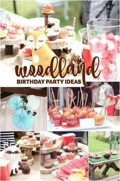 Woodland Birthday Party Ideas Boy First Parties Celebrations