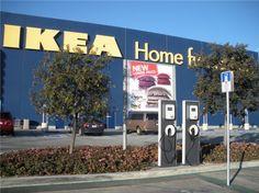 IKEA installe des bornes de recharge en France