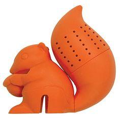 DCI Tea Infuser, Squirrel Tea Infuser, Orange DCI