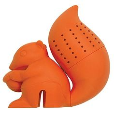 DCI Tea Infuser, Squirrel Tea Infuser, Orange DCI