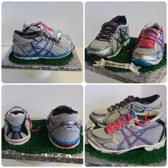True love comes in all shapes and sizes. #running #runners #asics #tyingtheknot