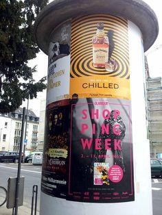 #Jack Daniels #Litfaßsäule . April 2015