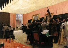 The Salon Jury (1885). Henri Gervex (French, 1852-1929). Oil on canvas. Musée d'Orsay