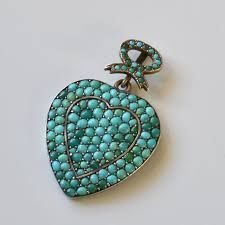 Image result for victorian turquoise hanger