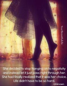 no negativity