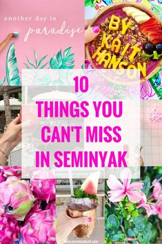 Our Bali Trip: Seminyak - All our favorite places in Seminyak, Bali, Indonesia -- where to eat and drink, what to see + how to spend your day!