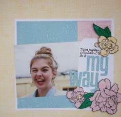 Scissors, Spatulas, and Sneakers: My Way: Core'dinations & Stampendous Blog Hop