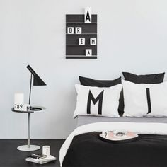 Design Letters Arne Jacobsen pillowcases