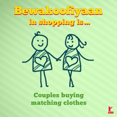 Have you ever done such lovey-dovey #Bewakoofiyaan?