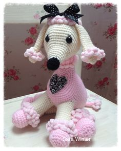 Amigurumi Crochet Poodle Dog by TheDaisyDream on Etsy