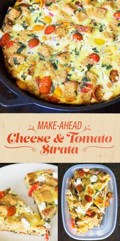 Make-Ahead Cheese and Tomato Strata | Here's What To Eat At Suhoor To Stay…