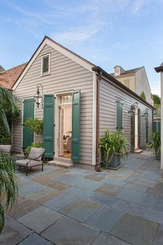 Traditional New Orleans House Exterior Design Ideas, Pictures, Remodel and Decor
