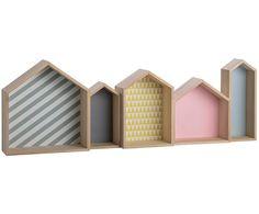 kinderzimmer regal 39 h user 39 pastell bunt 124cm kinder. Black Bedroom Furniture Sets. Home Design Ideas