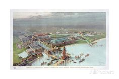 Official Birdseye View. World's Columbian Exposition, Chicago, 1893 Giclee Print at AllPosters.com