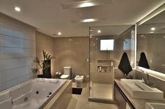 Modern Spa bathroom by pauline kubiak architecture modern Home Room Design, Dream Home Design, Home Interior Design, Appartement Design, Luxury Homes Dream Houses, Bathroom Design Luxury, Modern Luxury Bathroom, Bathroom Designs, Dream Bathrooms