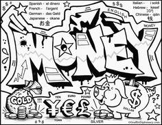 Image result for graffiti word outline