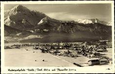Ansichtskarte / Postkarte Reutte Tirol, Thaneller, Ort im Winter, Schnee,Berge