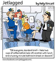 Pretty much how it goes, haha....Jetlagged comic by Kelly Kincaid