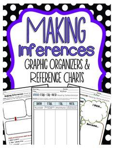 Making Inferences Graphic Organizers that Builds Comprehension Here is a PREVIEW of our Bundled Reading Graphic Organizers Click here! :  Bundled Reading Graphic Organizers  How to Use this Product:Graphic Organizers is a great way to keep track of students learning throughout the year.