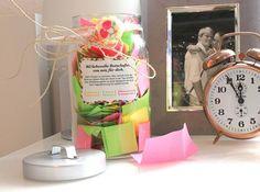 DIY-Geschenkidee: Verzettelt! 365 liebevolle Botschaften.