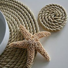I Made My Own (buy rope at Home Depot and use hot glue---easy & cheap) #DIY