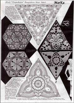 Motifs for crochet book