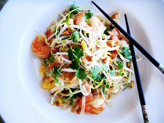 Shrimp pad thai - Cherry on my Sundae