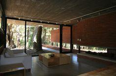 ARQUIMASTER.com.ar | Proyecto: Casa de Ladrillo en el Bosque de Mar Azul - BAK Arquitectos | Web de arquitectura y diseño