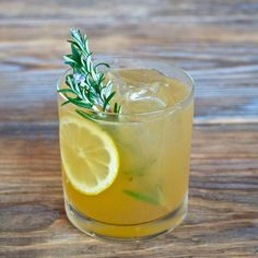 The Rosemary Maple Bourbon Sour from Mason Shaker's Eric Prum and Josh Williams