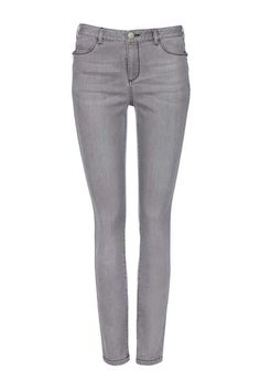 Grey Zip Pocket Skinny Trouser - Wallis