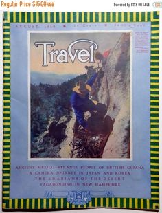 20% OFF Travel Magazine August 1919 Maui British by OakwoodView