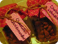 DIY se her hvordan: Chokolade-lakrids-mandler