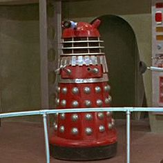 Red and Silver Movie Dalek - Dalek Colour Schemes and Hierarchy - The Doctor Who Site