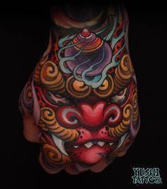 japanese tattoos for men Japanese Hand Tattoos, Traditional Japanese Tattoos, Japanese Tattoo Designs, Guru Tattoo, 4 Tattoo, Color Tattoo, Asian Tattoos, Leg Tattoos, Tatoo Tiger