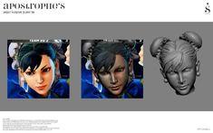 Street Fighter V Action Figure – Apostrophe'P 3d Face, Street Fighter, Action Figures, Movies, Movie Posters, Art, Art Background, Films, Film Poster