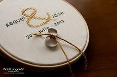 Resultado de imagen para porta anillos boda