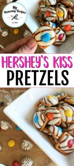 These Hershey Kiss Pretzels are enjoyable all year round! The saltiness and sweetness is like no other. This is a perfect dessert recipe to make with kids.