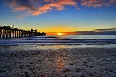 Oceanside - Sunset, December 22, 2012