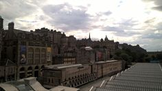 First view of #Edinburgh