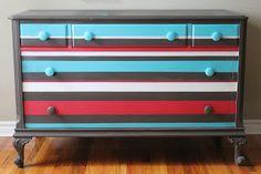 Stripes - Remote Stylist Muskoka Pop Up Cottage - Poppyseed Living