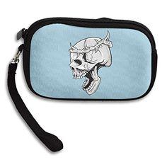 Wreath Of Bone Skull Women's Zipper Small Wallet Purse Porte-monnaie Clutch Cards Holder Wallet Purse Business...   #CarryWithYou