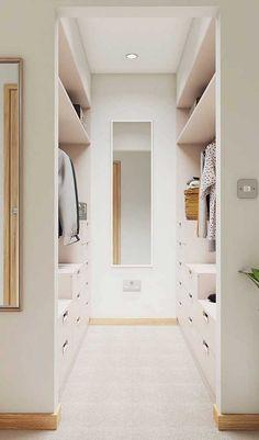 Armario Closet Casal Ideas For 2019 Wardrobe Room, Wardrobe Design Bedroom, Master Bedroom Closet, Walk In Closet Design, Closet Designs, Small Walk In Closet Ideas, Small Walk In Wardrobe, Walk In Robe Designs, Home Room Design