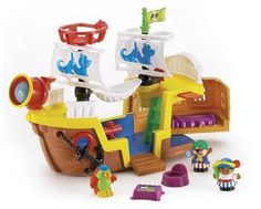 Fisher-Price Little People  Lil Pirate Ship Fisher-Price,http://www.amazon.com/dp/B000BB56AC/ref=cm_sw_r_pi_dp_SbvHsb10S9WQPGBJ