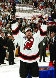 Scott Stevens | New Jersey Devils; Three Stanley Cups (1994-95, 1999-2000, 2002-03)